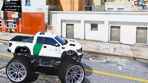 Ford Raptor Fire Truck - ford raptor border patrol monster truck 1 0 gta v mod 2 7k