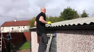 how to replace a compton apex garage roof youtube