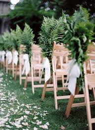 aisle markers fern wedding aisle markers once wed