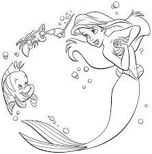 25 mermaid coloring ideas baby mermaid tattoo