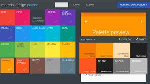 accent colors material design colors palette youtube
