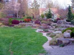 Rock Garden Bellevue Bellevue Botanical Garden Path Passing The Rock Garden Mapio Net