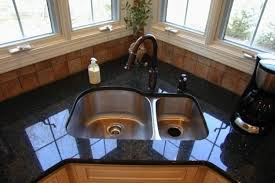 Sinks For Small Kitchens by Modern Kitchens With Space Saving And Ergonomic Corner Sinks