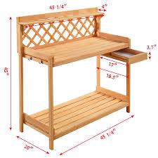Homebase For Kitchens Furniture Garden Decorating Bench Garden Wood Benches Garden Wood Work Potting Bench Station