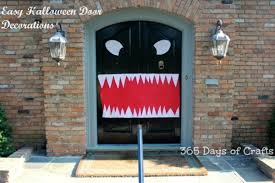 Door Decorations For Halloween Halloween Door Decorations Monster Mouth