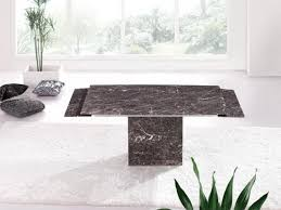 grey marble dining table zeus brown grey marble extending dining table and 6 d215 chairs
