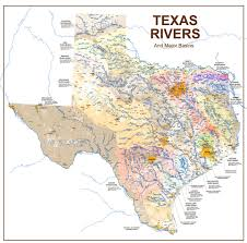 Texas rivers images Texas rivers creeks and lakes map texas rivers and lakes jpg