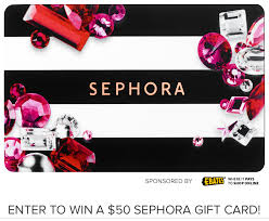 win gift cards online sponsored win 1 of 6 50 sephora gift cards