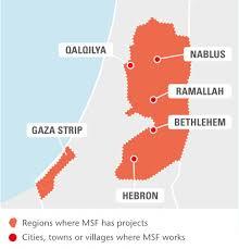 occupied palestinian territory msf uk