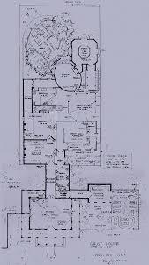 ken anderson u0027s layout for a walk through disneyland haunted