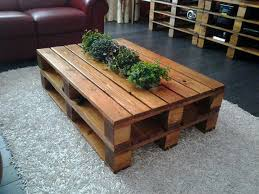 tables made from pallets simple diy pallet table made out of two panels founterior