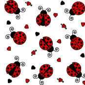 ladybug wrapping paper ladybug fabric wallpaper gift wrap spoonflower