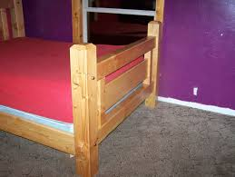 hand made rustic timber frame bed by snapdragon contracting
