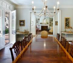 crystal ball chandelier dining room contemporary with dark stained