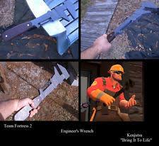 Team Fortress 2 Halloween Costumes Halloween Costume Team Fortress 2 Engineer U0027s Wrench Ebay