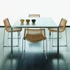 wicker dining room chair beautiful rattan dining chair with rattan kitchen sets rattan