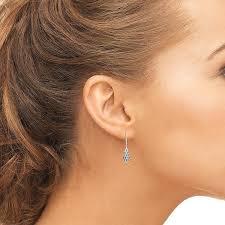 earrings everyday gift semi diamond studded black diamond earrings radiant bay