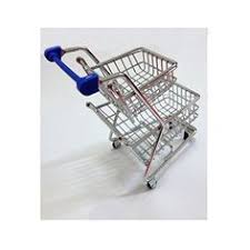 Mini Shopping Cart Desk Organizer 1pcs Mini Shopping Cart Desk Organizer Supermarket Phone Pen Toy