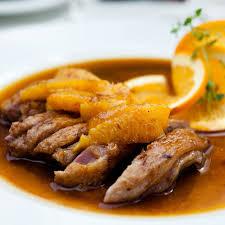 cuisine vins recette canard à l orange cuisine et vins de