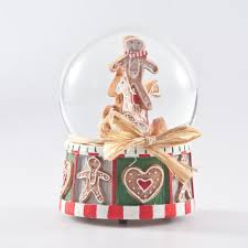 gingerbread snow dome by gisela graham at mollie fred