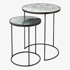 what are nesting tables modern end tables and side tables at abc home carpet