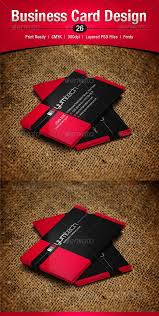 Red Business Cards 14 Best Red Business Cards Images On Pinterest Card Designs
