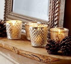 Home Interiors Votive Cups Mercury Glass Votive Cups Pottery Barn Au
