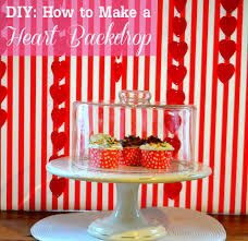 diy how to make a backdrop for s day catch my