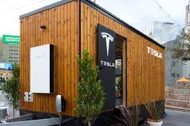 tiny house models tesla tows tiny house around australia with model x roadshow