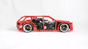 lego sports car lego drift wagon the awesomer