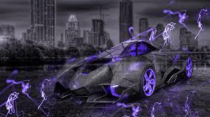 Lamborghini Veneno Purple - lamborghini egoista crystal city energy car 2015 wallpapers el