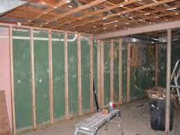 framing basement walls cost building diy huskytoastmasters info