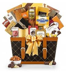 gifts delivered golden gourmet chocolate gift basket