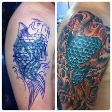 koi tattoo com cover up tattoo fish koi tattoo ta2 tattookoi tatua flickr