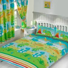 kids double duvet cover sets dinosaur army birds unicorn boys