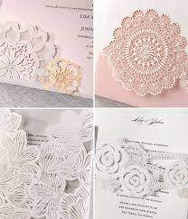 wedding invitations jakarta laser cut wedding invitations from b wedding invitations green