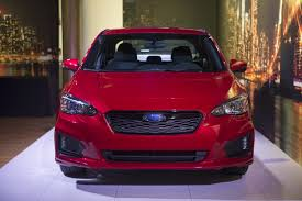 subaru red subaru u0027s 2017 impreza is sharper more dynamic to drive and safer