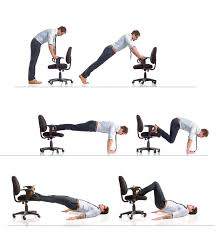 Desk Chair Workout Work Out Southbay Magazine