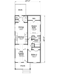 cottage style house plan 2 beds 1 00 baths 966 sq ft plan 419