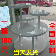 Cosmetic Cabinet Usd 24 62 Wooden Round Island Cabinet Display Cabinet Rack Shoe