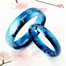 mens blue wedding bands black and blue wedding rings lake side corrals black and blue