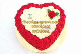 red heart cakes delivery gurgaon online delivery noida delhi