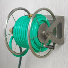best wall mounted hose reel amazon com liberty garden products 703 s2 multi purpose steel