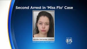 Flo Santa Clara County Deputies Arrest Woman Connected To U0027miss Flo