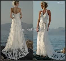 turmec halter wedding dresses for bride beach