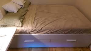 Brimnes Bed Frame Ikea Brimnes Bed Frame With Storage Assembly Storage Designs