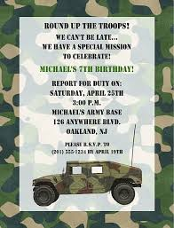 camouflage invitation template 28 images 40th birthday ideas