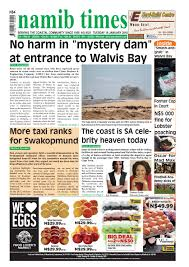 19 january namib times e edition by namib times virtual issuu