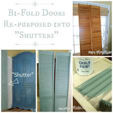 decor u0026 tips inspiring repurpose louvered doors into shutters for