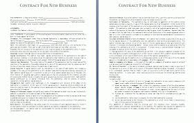 free business contract templates business contract template 10
